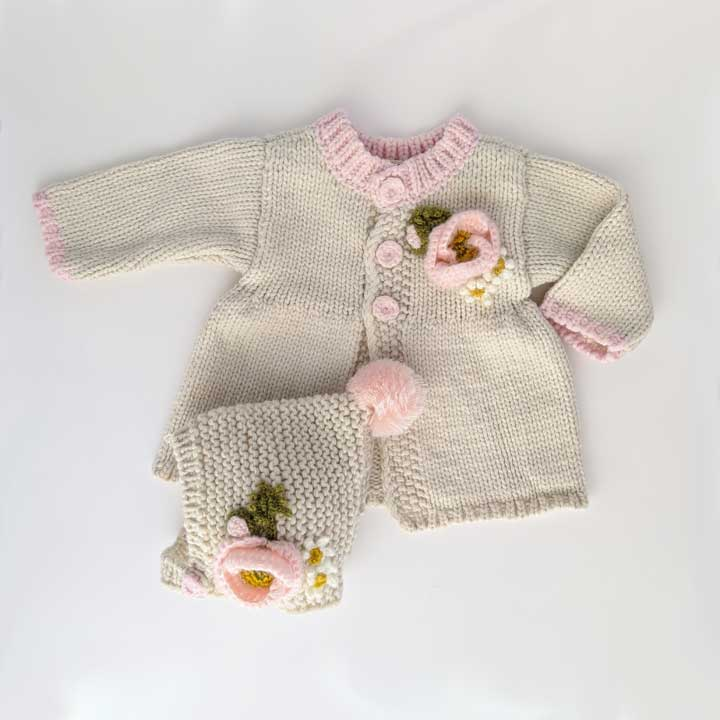 HUGGALUGS POPPY SWEATER NATURAL