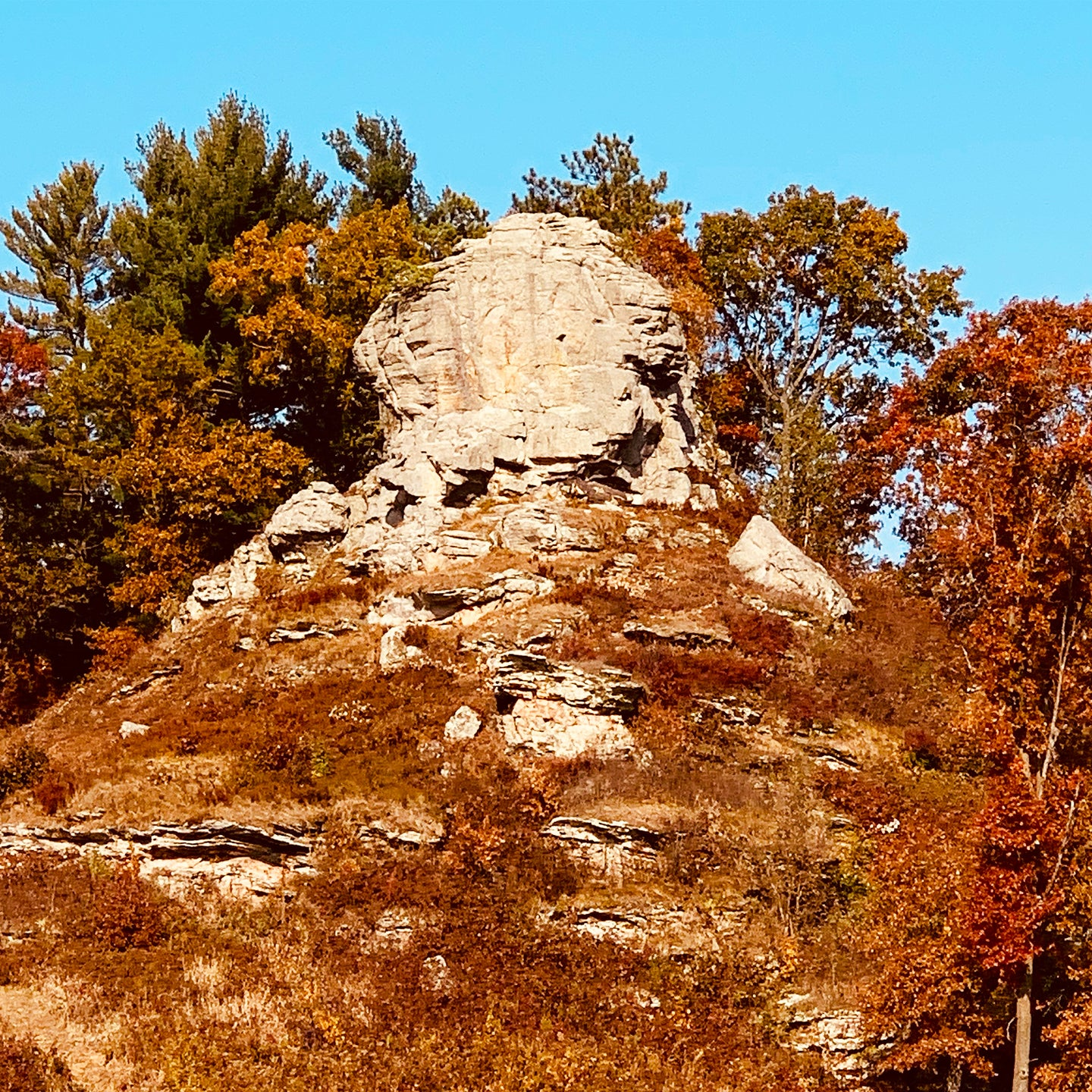 Meet our favorite outcropping, Donald Rock