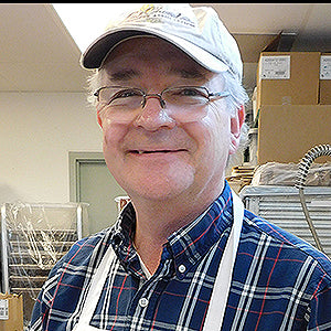 Chief Chocolatier at Driftless Chocolates, Stan Kitson