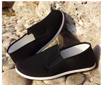 Black Cotton Shoes
