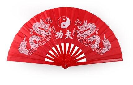 Double Sided Tai Chi Fan