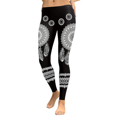Dreamcatcher Digital Print Leggings
