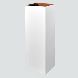 Classic Pedestal Parts - Bodies - Black or White - 3 Heights / 2 Widths