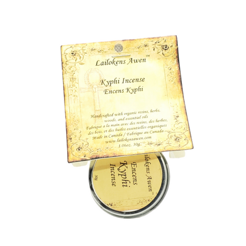 Kyphi Resin Incense By Lailokens Awen Incense