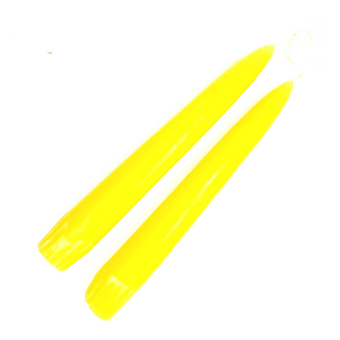 Yellow Taper Candles