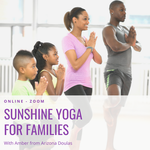 Sunshine Yoga for Families - Wednesday Morning Virtual Zoom Class
