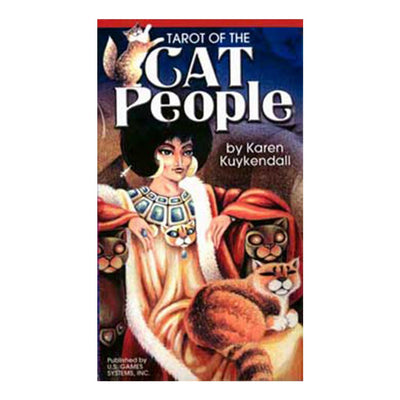 Cat People tarot  deck by Karen Kuykendall