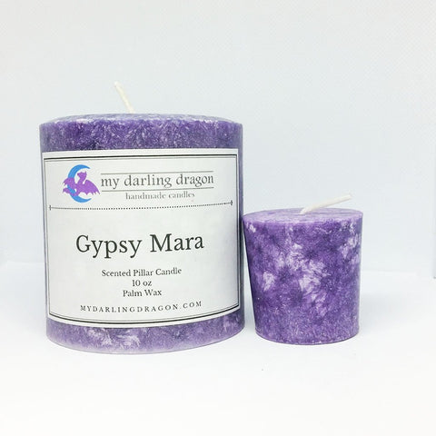 Gypsy Mara Scented Candle