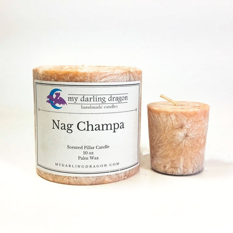 Nag Champa Scented Candle