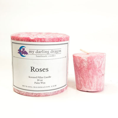 Rose Bouquet Scented Candle