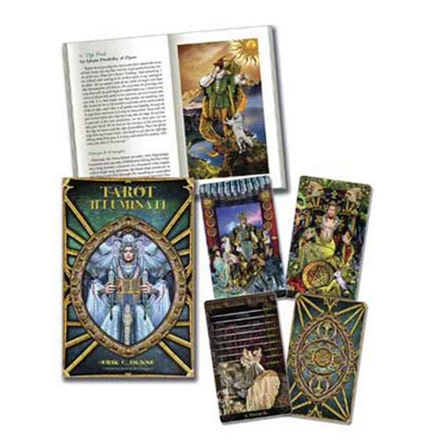 Tarot Illuminati (deck and book) by Erik C. Dunne & Kim Huggens