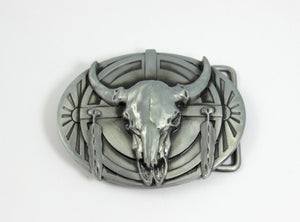 Belt Buckle Buffalo Head Native American Small Medium Size Silver Buckles Cowboy Western High Quality Mens Accessories Gift for Him