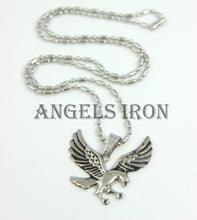 Load image into Gallery viewer, Eagle Necklace Stainless Steel Chain Men Bird Pendant High Qaulity MensBiker Jewelry Gift