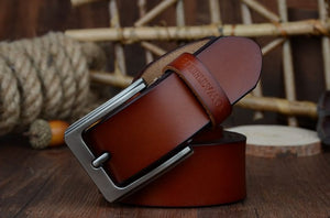 COWATHER men belt cow genuine leather designer belts for men