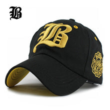Load image into Gallery viewer, [FLB] Letter Baseball Cap Men Unisex Cool Vintage Team Snapback Hats Many Styles