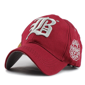 [FLB] Letter Baseball Cap Men Unisex Cool Vintage Team Snapback Hats Many Styles