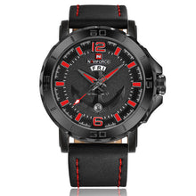 Load image into Gallery viewer, New NAVIFORCE Sport Quartz Watch Waterproof Mens Watches Genuine Leather Date