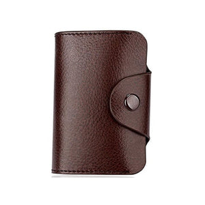 Fashion Genuine Leather Card Holder Women Men Cowhide Rfid Wallet For Credit Card Business Card Holders Organizer Bag Purse
