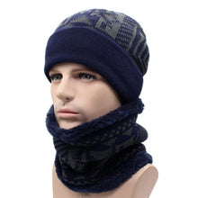 Load image into Gallery viewer, Skullies Beanies Winter Knitted Beanie Scullies Scarf Men Warm Many Styles