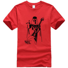 Load image into Gallery viewer, Men Darth Vader Heavy Metal printing Designer Funny T Shirts Short Sleeve Tee Creative fashion Star War t-shirts Cotton S-XXXL