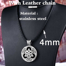 Load image into Gallery viewer, BEIER Stainless Steel Viking Pendant Necklace Men Many Styles Scandinavian Jewelry