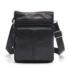 Load image into Gallery viewer, WESTAL Small Messenger Bags Men Women Bag Genuine Leather Designer Crossbody Bag Shoulder Fashion Flap Casual Zipper 701