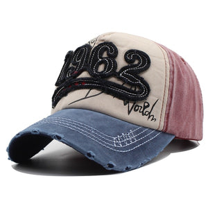 Vintage 1962 Baseball Caps Men Distressed Retro Trucker Hats For Men Unisex Many Styles