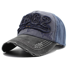 Load image into Gallery viewer, Vintage 1962 Baseball Caps Men Distressed Retro Trucker Hats For Men Unisex Many Styles