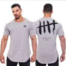 Load image into Gallery viewer, 2019 Fitted T-Shirt Men Bodybuilding Fitness Activewear Short Sleeve Shirts Many Color Choices