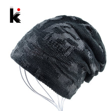 Load image into Gallery viewer, Cool Skull Beanie For Men Unisex Warm Winter Skullies Soft Fabric 3 Color Choices