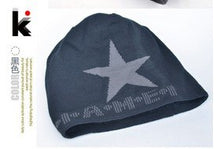 Load image into Gallery viewer, Cool Star Beanie Warm Fabric Blend Mens Skullies Cold Weather Gear Many Style Available