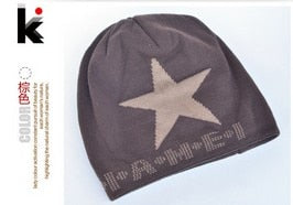 Cool Star Beanie Warm Fabric Blend Mens Skullies Cold Weather Gear Many Style Available