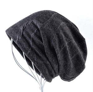 Warm Winter Beanies Men Super Soft Warm Fabric Slouchy Skullies Unisex Cold Weather Snow Gear