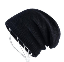 Load image into Gallery viewer, Warm Winter Beanies Men Soft Warm Fabric Slouchy Skullies Unisex Cold Weather Snow Gear
