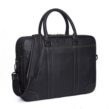 Load image into Gallery viewer, CONTACT'S Men Briefcase Genuine Leather Big Business Messenger Bags Male Casual Shoulder Bag For Laptop High Quality Handbags