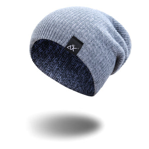 Slouchy Beanie Warm Winter Hats For Men Women Knitted Beanies