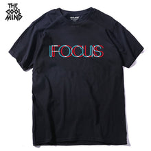 Load image into Gallery viewer, THE COOLMIND pure 100% cotton short sleeve fucus printed funny men Tshirt casual o-neck loose summer T shirt for men tops tees