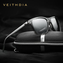 Load image into Gallery viewer, VEITHDIA Brand Unisex Retro Aluminum+TR90 Sunglasses Polarized Lens Vintage Eyewear Accessories Sun Glasses For Men/Women 6108