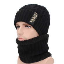 Load image into Gallery viewer, AETRUE Brand Winter Skullies Beanies Men Winter Knitted Hat Scarf