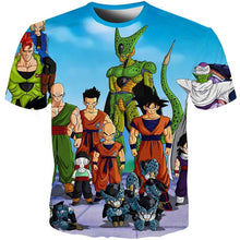 Load image into Gallery viewer, YOUTHUP 2018 Summer T Shirts Men Anime Print Dragon Ball 3D T-Shirt Oogway Tees Master Roshi Men T shirt Streetwear Plus Size