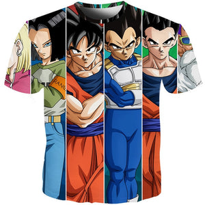 YOUTHUP 2018 Summer T Shirts Men Anime Print Dragon Ball 3D T-Shirt Oogway Tees Master Roshi Men T shirt Streetwear Plus Size