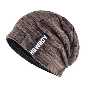 Warm Winter Beanie Skullie For Men Scarf Soft Knitted Beanies Unisex Snow Gear Mney Colors