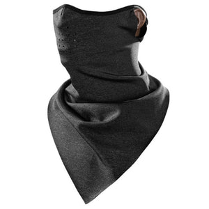 ROCKBROS Winter Windproof Ski Mask Scarf Warm Fleece Thermal Breathable Black Cycling Snowboard Motorcycle Skiing Face Mask