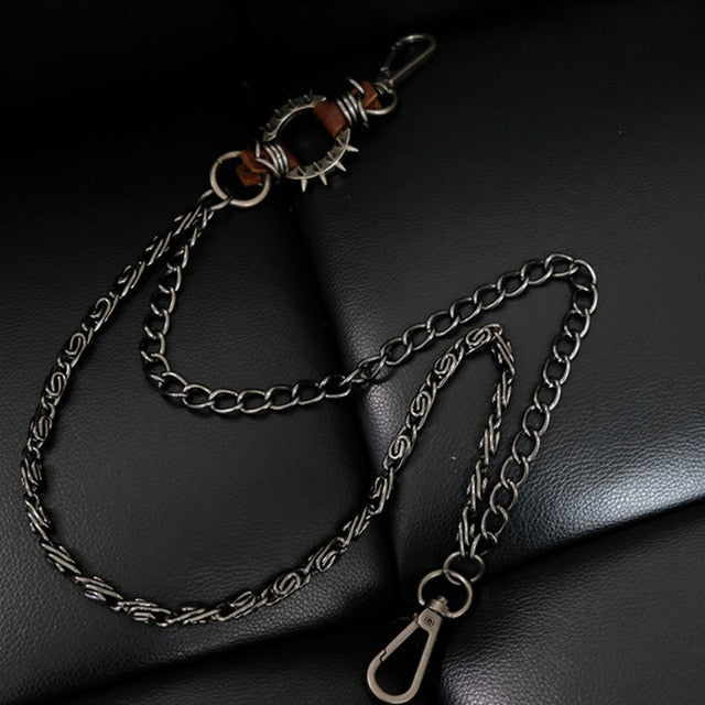 Jean Chain Men Heavy Metal Biker Wallet Chains Rocker Punk Accessories Different Styles