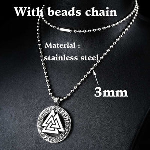 BEIER Stainless Steel Viking Pendant Necklace Men Many Styles Scandinavian Jewelry