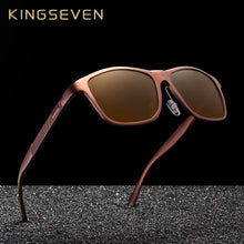 Load image into Gallery viewer, KINGSEVEN Retro Aluminum Magnesium Sunglasses Polarized Vintage Women Sun Glasses Driving Men Eyewear Accessories
