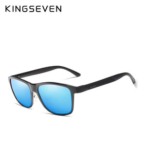 KINGSEVEN Retro Aluminum Magnesium Sunglasses Polarized Vintage Women Sun Glasses Driving Men Eyewear Accessories