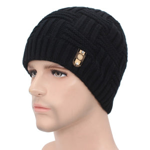 Super Warm Beanie Scullie For Men Double Layered For Warmth Snowbarding Skiing