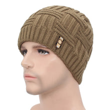 Load image into Gallery viewer, Super Warm Beanie Scullie For Men Double Layered For Warmth Snowbarding Skiing