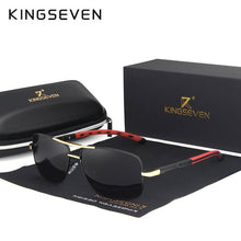 Load image into Gallery viewer, KINGSEVEN 2019 Brand Men Aluminum Sunglasses HD Polarized UV400 Mirror Male Sun Glasses Women For Men Oculos de sol N724